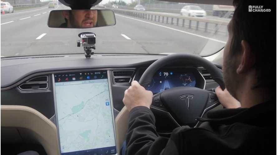 Fully Charged Tests Tesla Model S Autopilot - Video