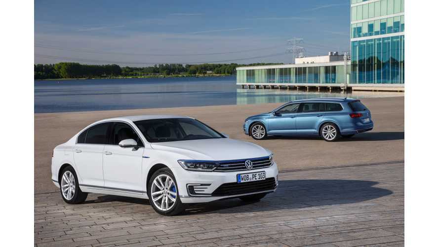 Volkswagen Passat GTE Launches In Europe