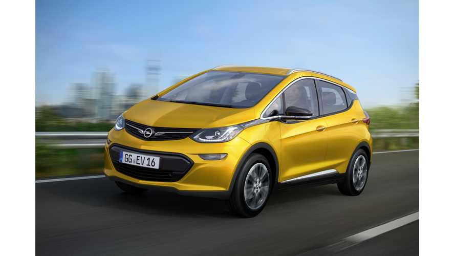 Opel Announces Ampera-e (Chevrolet Bolt EV) For 2017