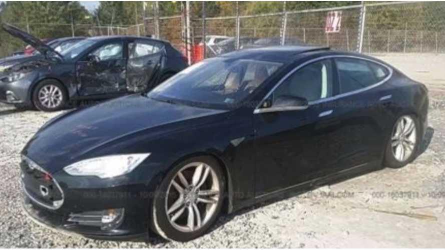 Repair Series Begins For Flooded Tesla Model S - Video