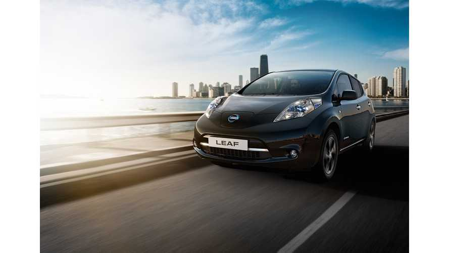 Nissan LEAF Black Edition Guaranteed To Make You Cool Launches In UK
