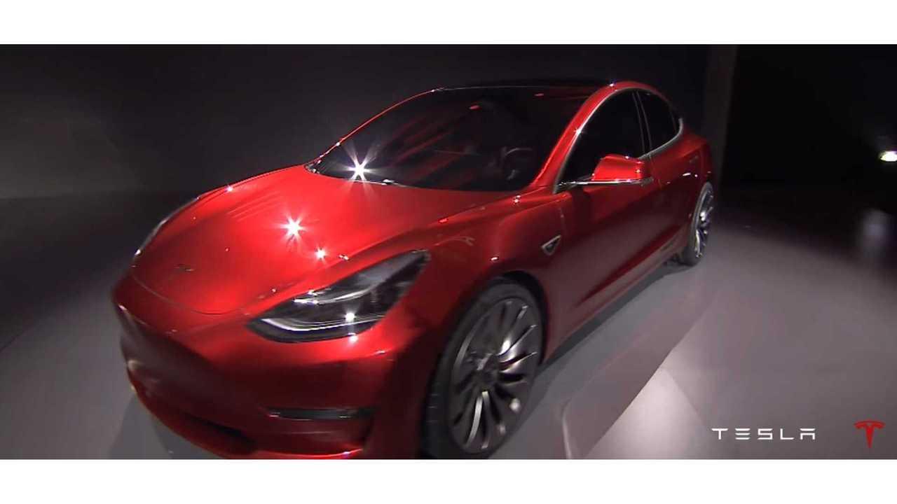 Tesla Model 3 Configurator Online In July Alongside First Deliveries, Limited Options At First