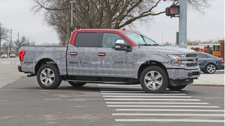 Watch Ford F-150 Electric Pickup Truck Drive Silently: Video