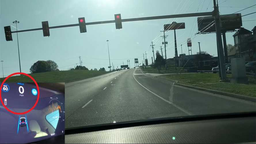 Hacker Gets Tesla On Autopilot To Stop Itself At Red Light: Video