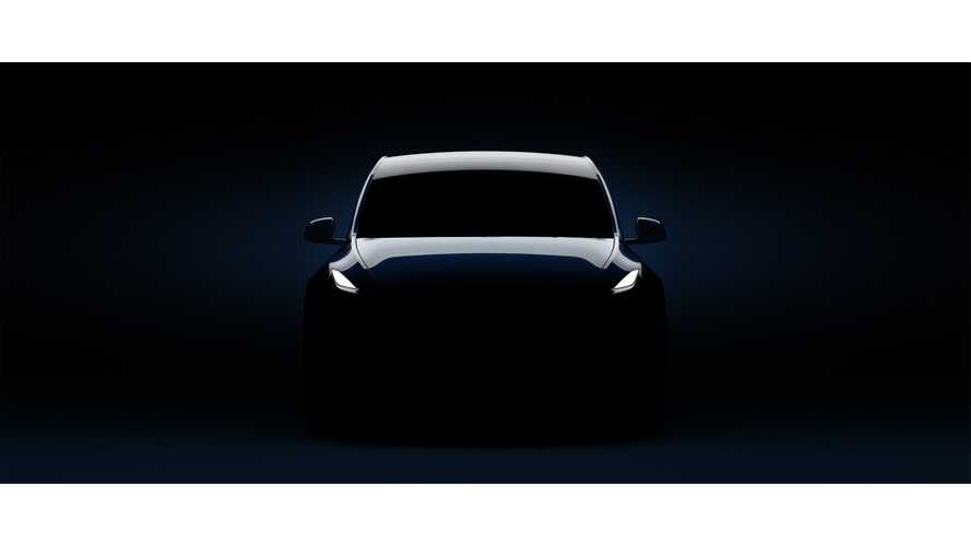 New Tesla Model Y Teaser: Don't You Even Dare Try To Lighten It