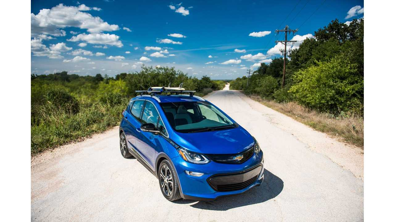 Candid Chevy Bolt EV 470-Mile Road Trip Story Is Sure To Entertain