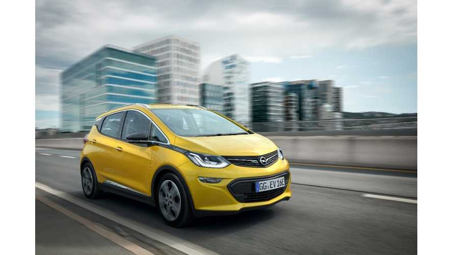 Opel Ampera-E Range Beats All Competitors
