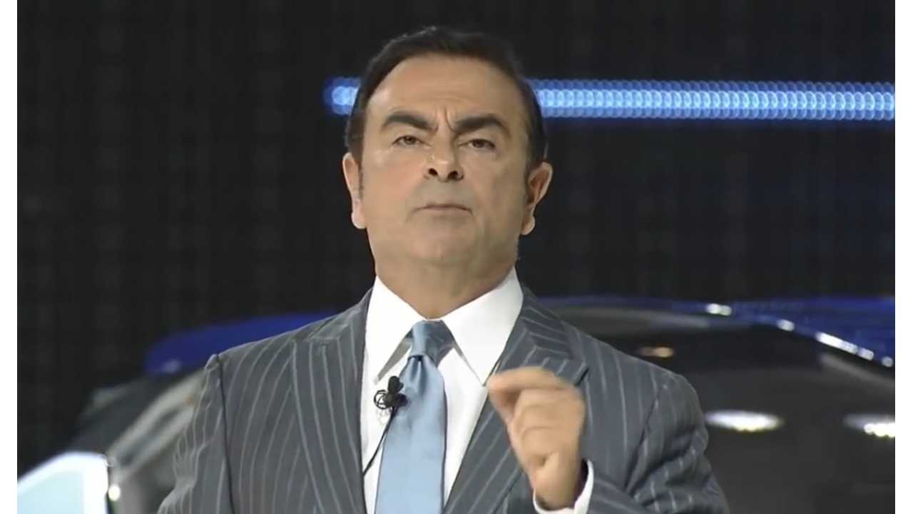 Nissan CEO Carlos Ghosn: Only Viable Solution Is Electrification