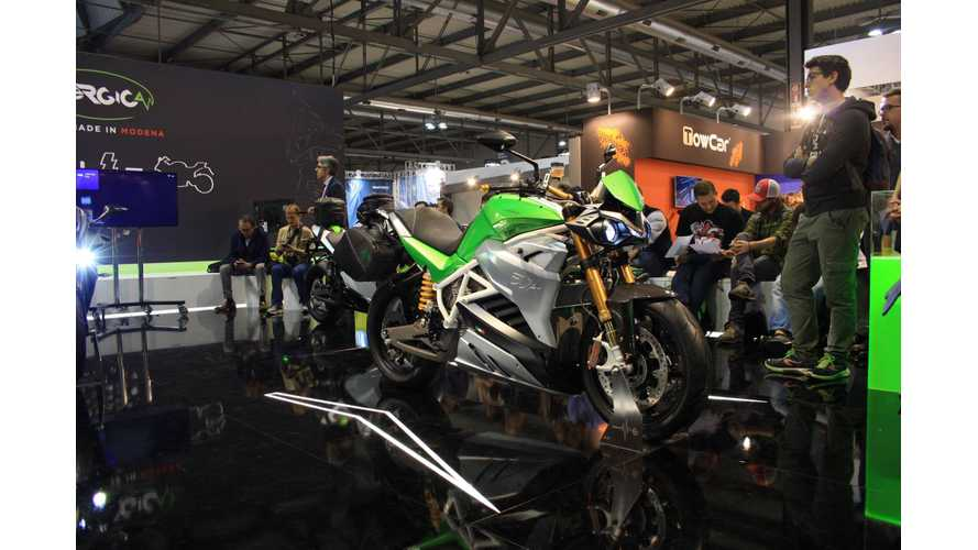 Production Energica Eva Gets Fully Revealed