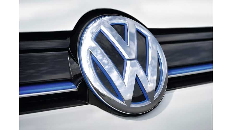 Volkswagen To Invest $10 Million Into U.S. Electric Car Charging Infrastructure