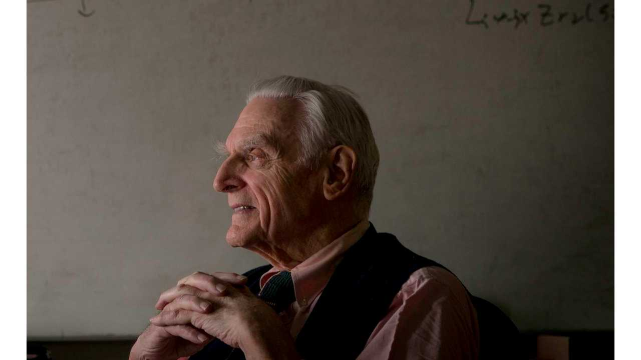 Father of Lithium Ion Battery Still Researching The Next Big Thing at 92