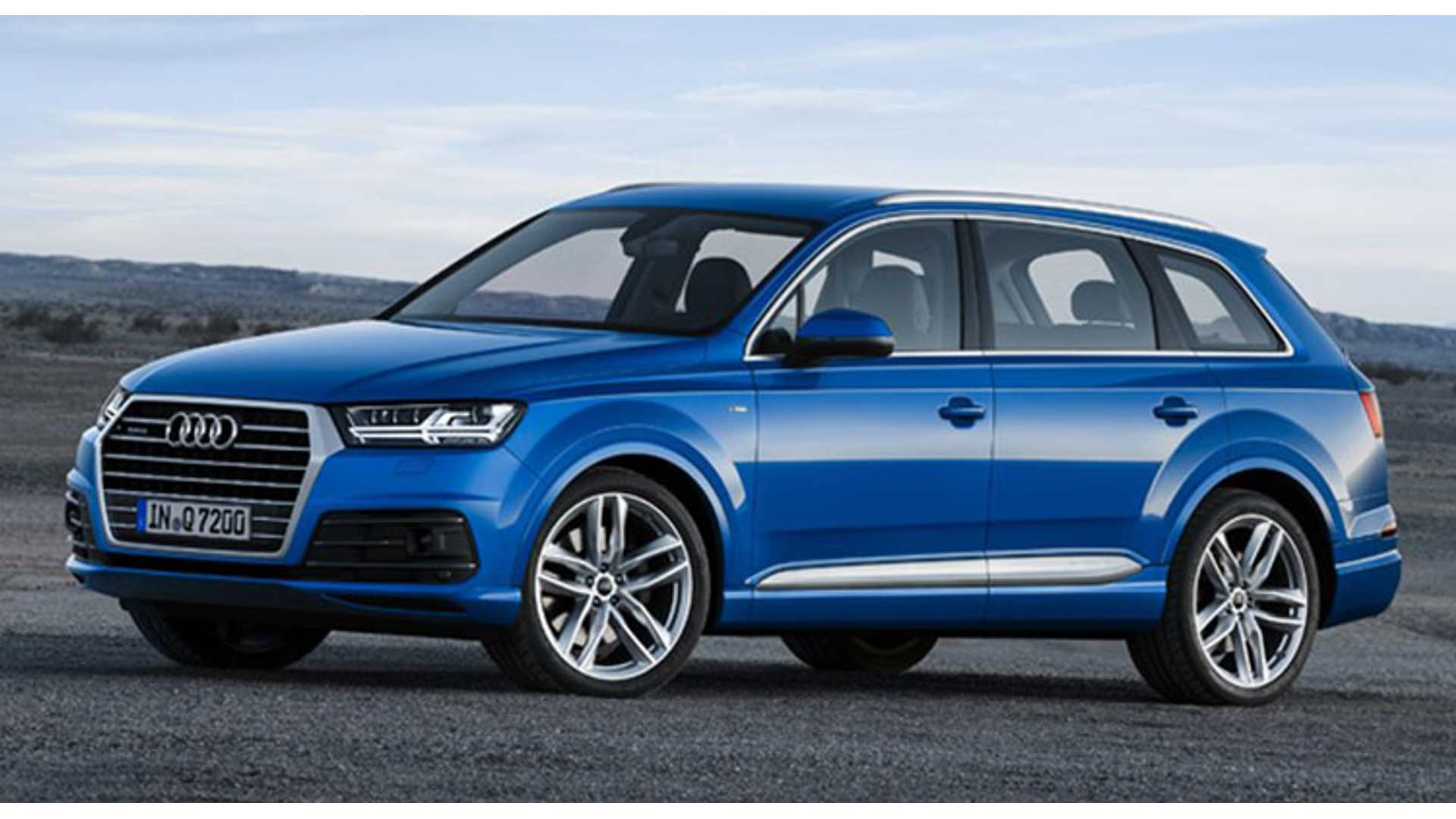 Audi Announces Launch Of 2016 Q7 E Tron Quattro Sel Plug In Hybrid