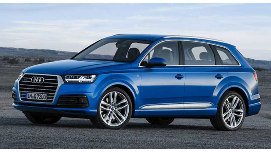 Audi Announces Launch Of 2016 Audi Q7 E-Tron Quattro Diesel Plug-In Hybrid