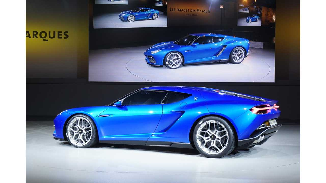Lamborghini Asterion Plug In Hybrid Rumored To Be Production Bound