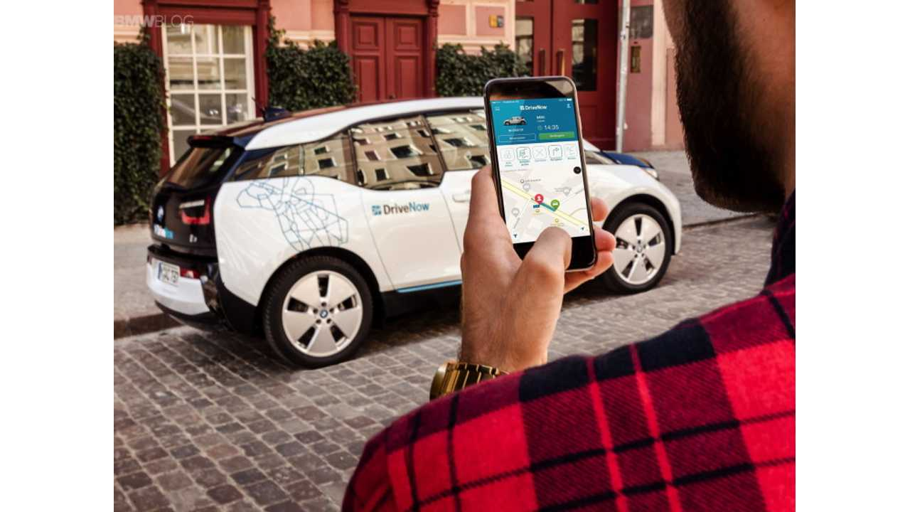 20% Of BMW's DriveNow Fleet Is Electric, Providing 150,000 First EV Drive Experiences