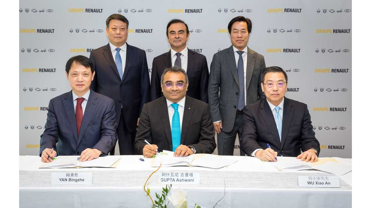 Renault & Brilliance To Launch 3 Electric LCVs in China By 2020