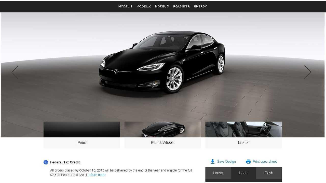 Tesla Tax Credit