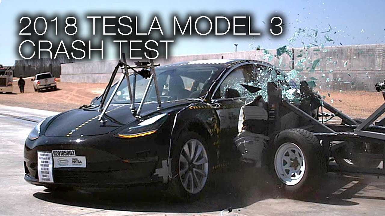 Watch These NHTSA Tesla Model 3 Crash Test Videos