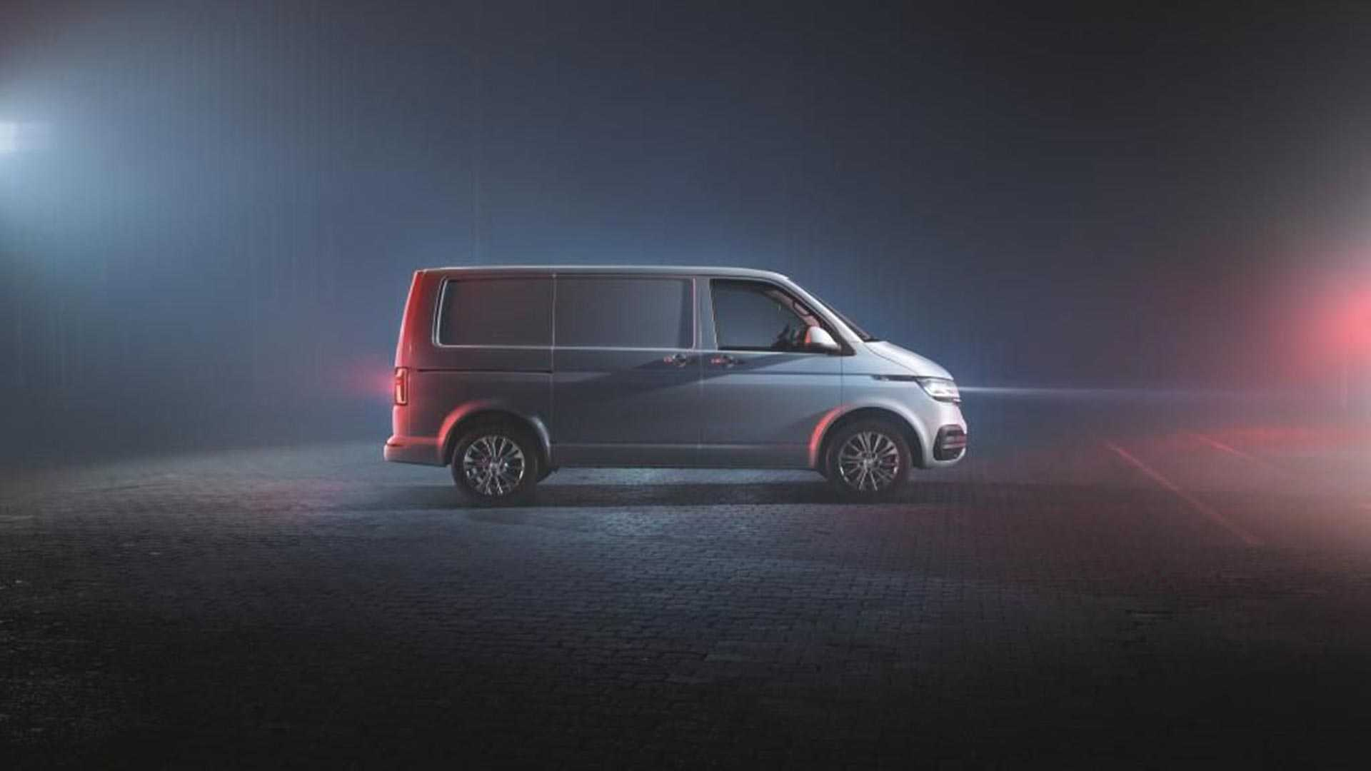 VW Transporter T6 1 Teased With Fresh Look, Lots More Tech