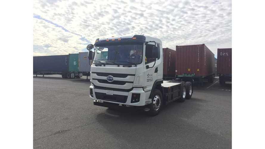 Shenzhen Companies Ordered 500 BYD Electric Dump Trucks