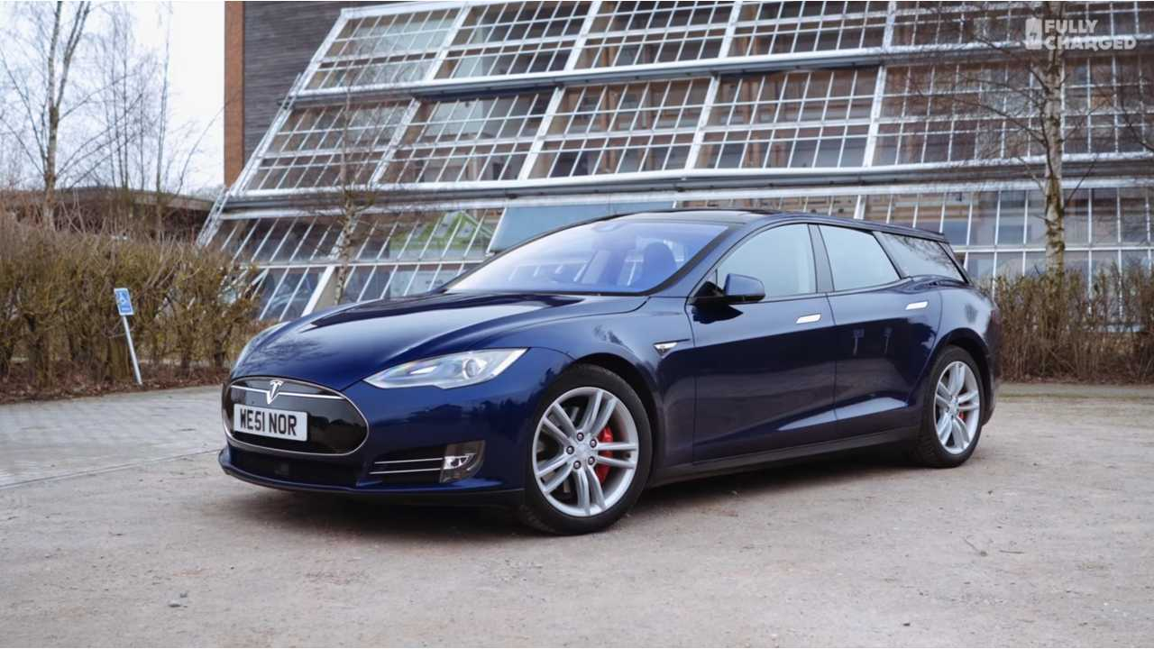 Tesla Model S Shooting Brake Fully Charged