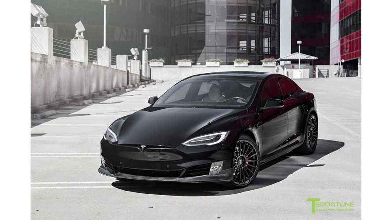 Project Malibu Tesla Model S P100D By TSportline