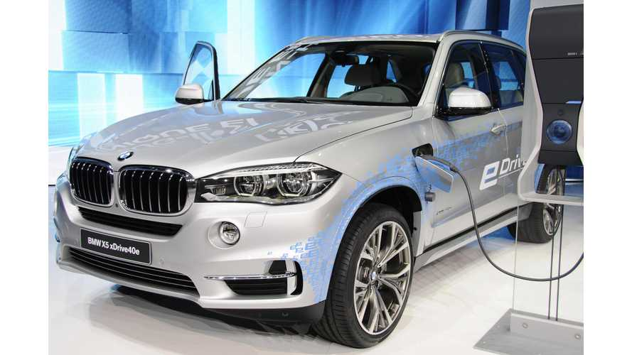 BMW X5 xDrive40e At 2015 Auto Shanghai – Photos & Videos
