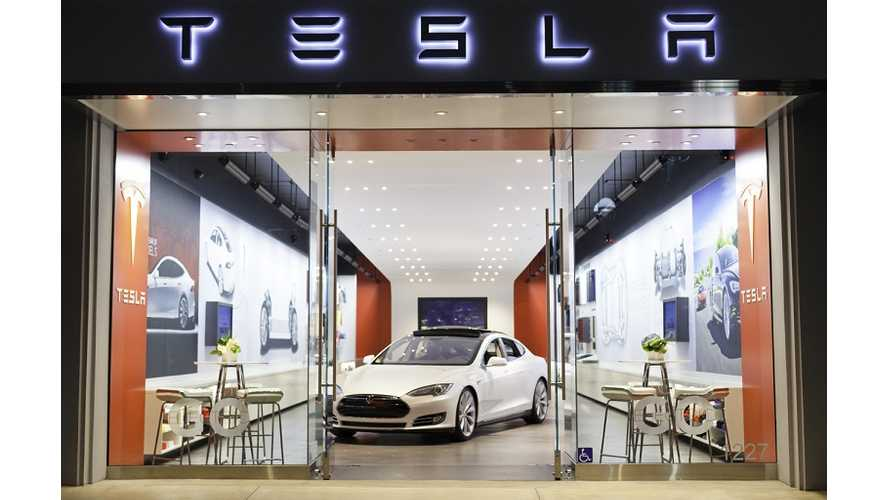 Tesla's First Utah Store Is Ready To Open Its Doors, But State Says No