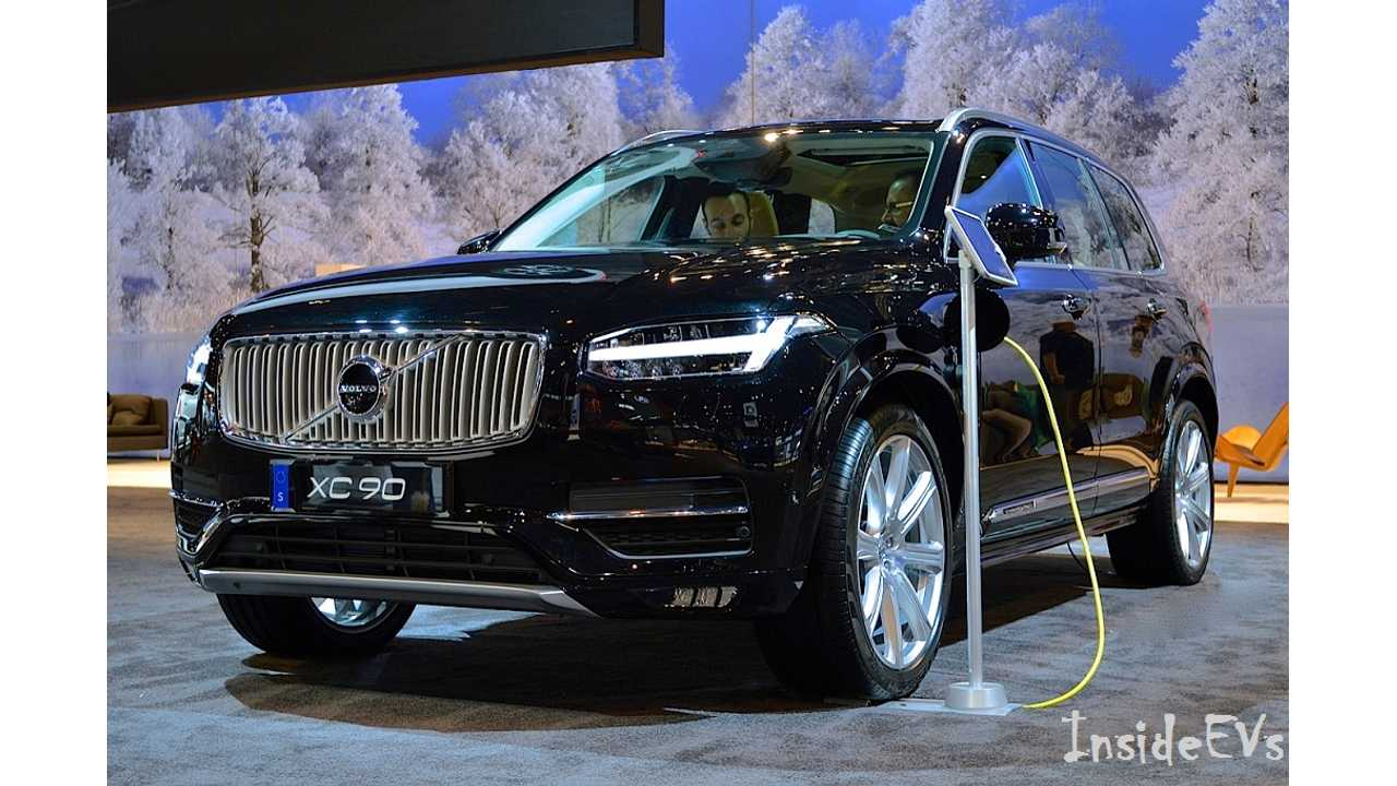 All New Volvo Xc90 T8 Twin Engine Image Credit Mike Anthony