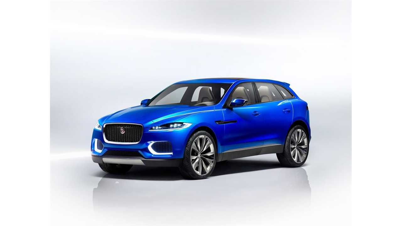 300-Mile Electric Jaguar Crossover Coming In 2018?