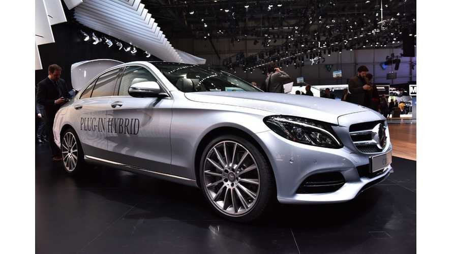 Mercedes-Benz C 350 Plug-In Hybrid – Live Images + Video From Geneva
