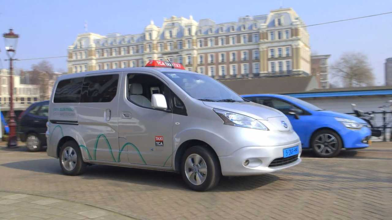 Amsterdam Is Electric Taxi Capital Of The World (w/video)