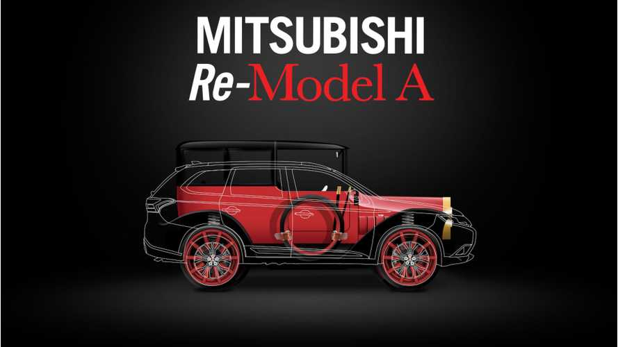 1917 Mitsubishi Model A With Outlander PHEV Set For Debut - videos