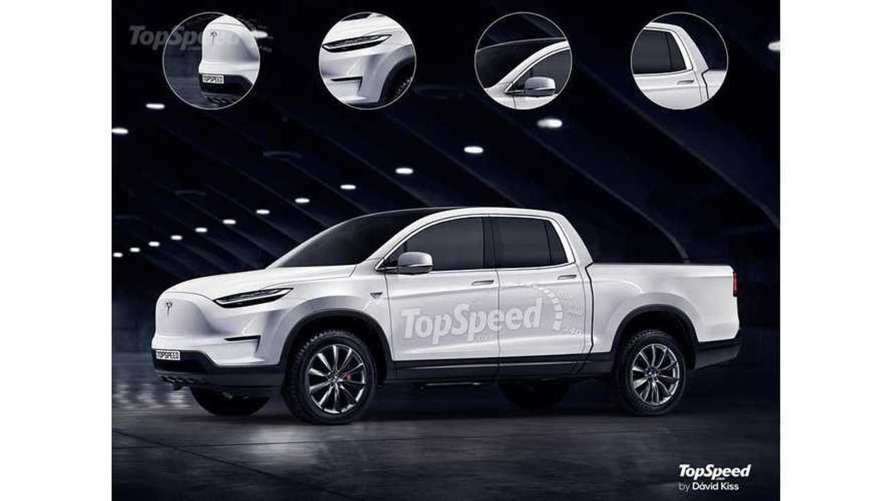 2020 Tesla Pickup Truck Rendered By Top Speed