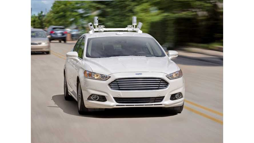 Ford:  High Volume, Fully Autonomous Vehicle For 2021 - No Driver Required