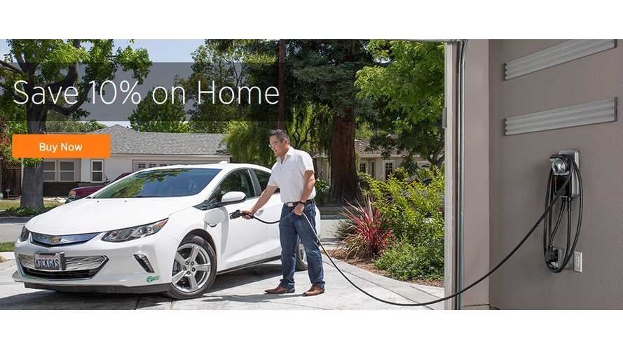 ChargePoint Home Charging Station 10% Off On The Occasion Of National Drive Electric Week