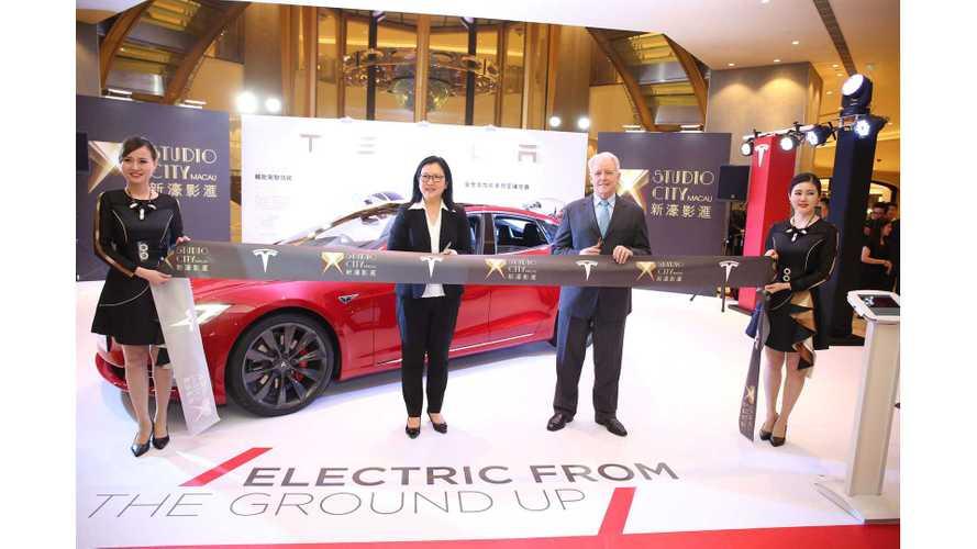 Tesla's First SuperCharger in Asian Vegas - Macau
