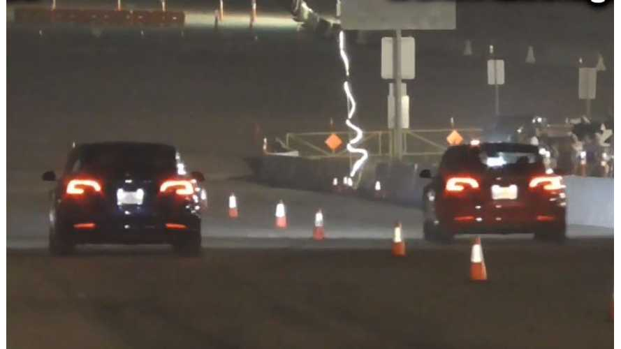 Watch Tesla Model 3 Performance Race ... Model 3 Performance & More