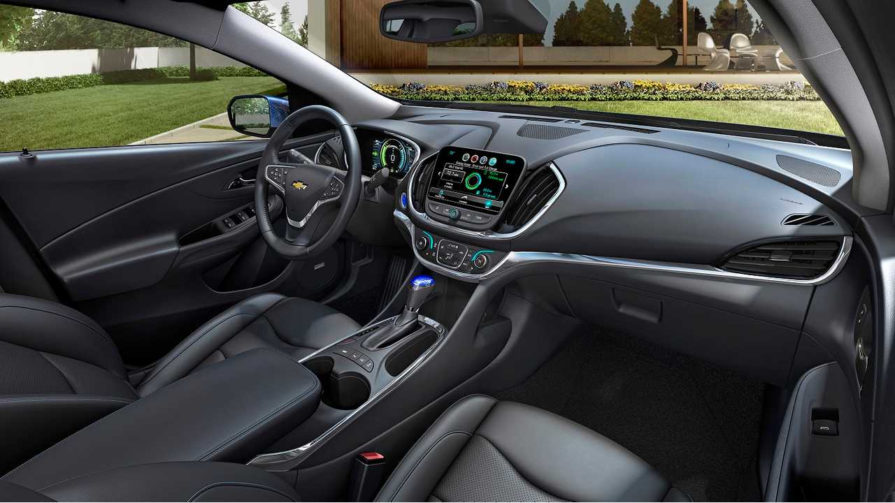 The 2016 Chevrolet Volt Gets A More Traditional Interior