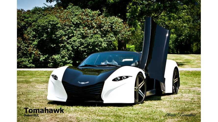 Meet The Dubuc Tomahawk - The Sub-$100,000 Long-Range BEV Supercar