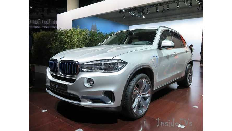BMW Plug-In Vehicles Charge The Stage At 2014 LA Auto Show - i3, i8 & X5 eDrive PHEV