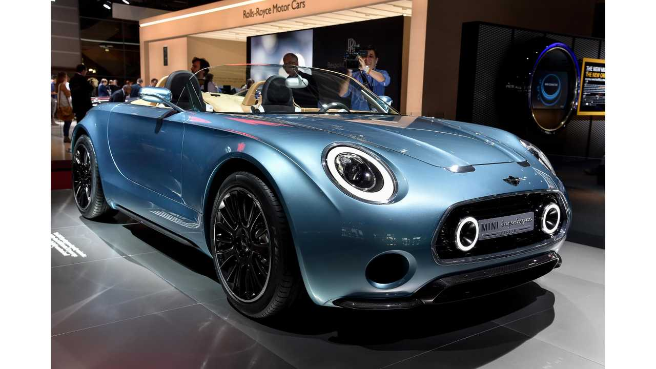 2014 Paris Motor Show: MINI Superleggera Vision