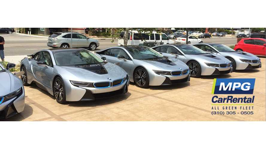 BMW i8 Now Available To Rent At MPG Car Rental