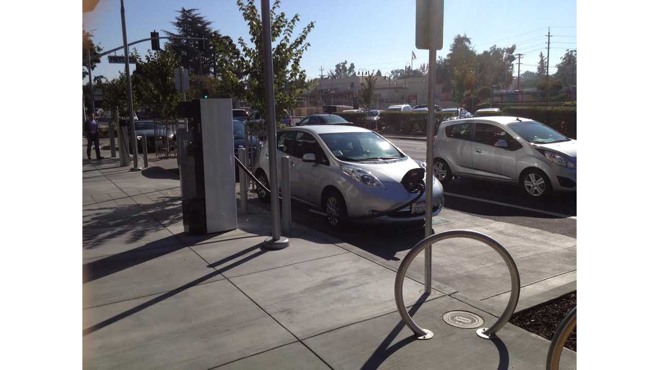 Curbside Fast Charger - Image Credit: Matt Falcon