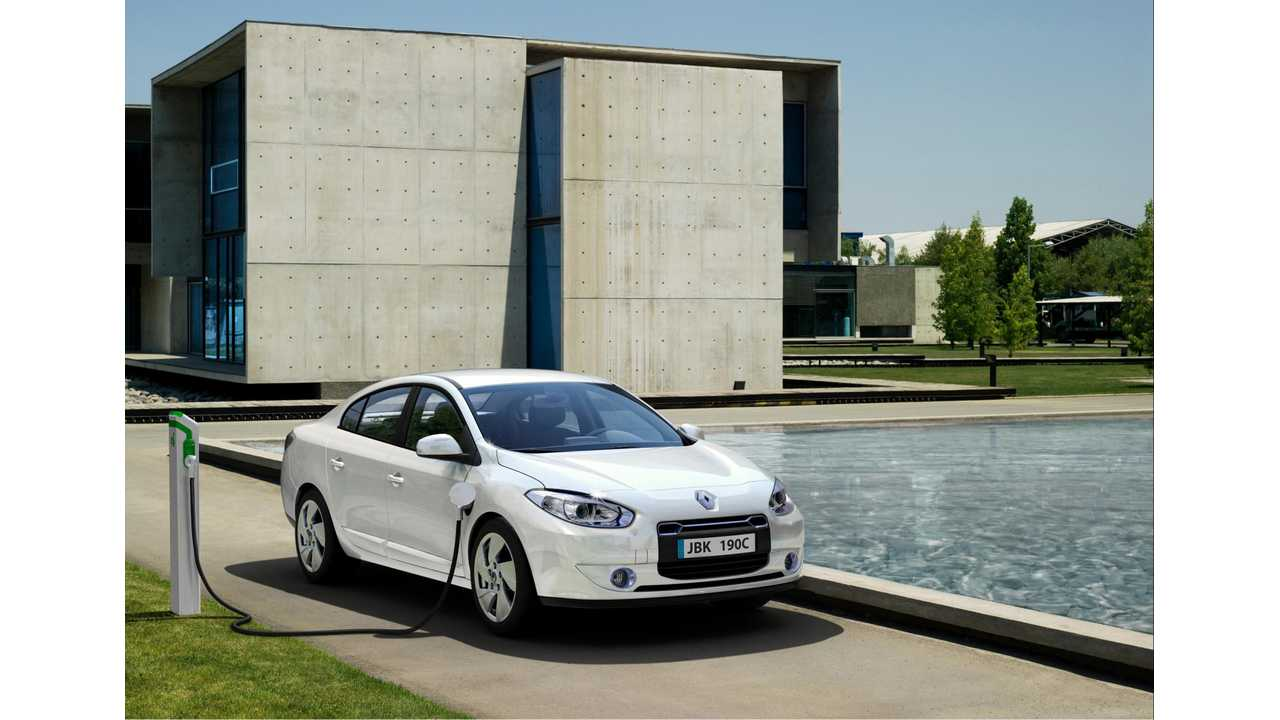 Renault To Build Fluence Z.E. In China For Chinese Buyers