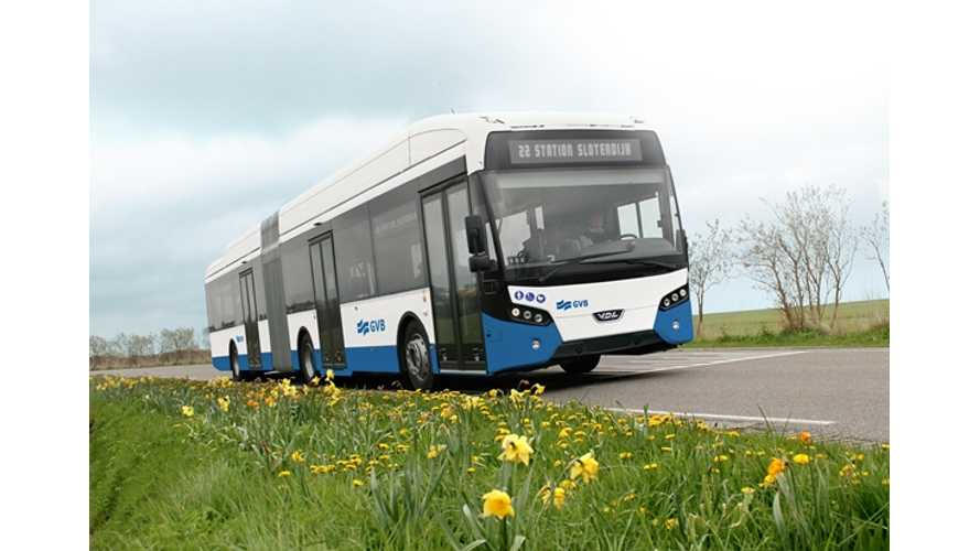 VDL To Deliver 31 Electric Citeas Buses For Transport In Amsterdam