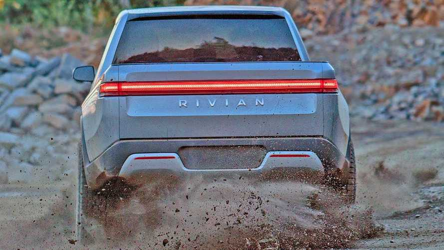 This Lone Rivian R1T Electric Truck Video Shows All