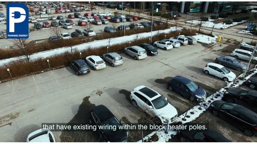 Finland Has A Genius Charging Solution For EVs - Use Existing Block Heater Poles - Video