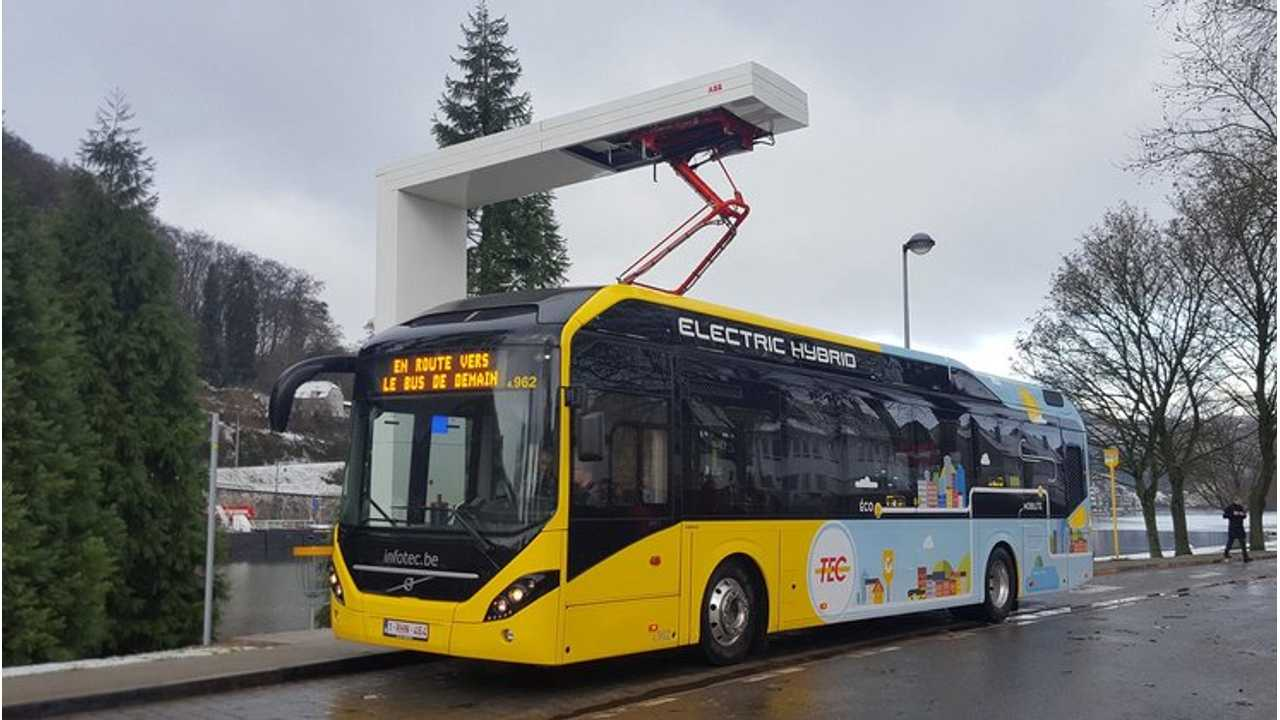 Volvo Buses Receives Order For 90 Plug-In Hybrid Buses From Belgium