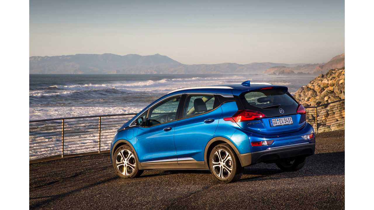 Despite Thousands Of Orders, Opel Ampera-E Deliveries In 2017 Will Likely Be Limited In Norway